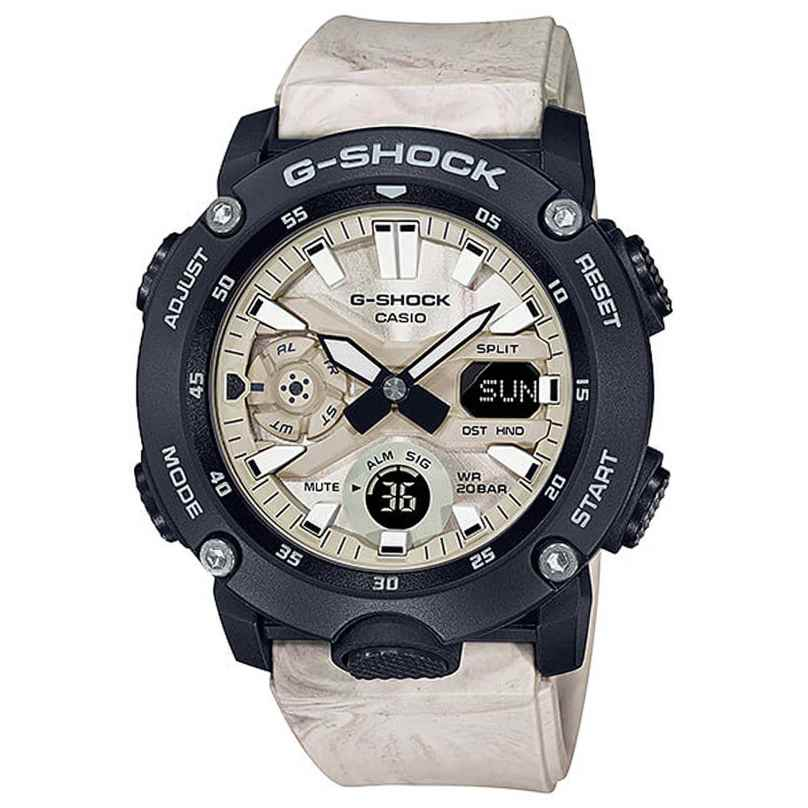 Casio GA-2000WM-1AER G-Shock Classic Ana-Digi Herrenuhr Marmoriert 4549526293481