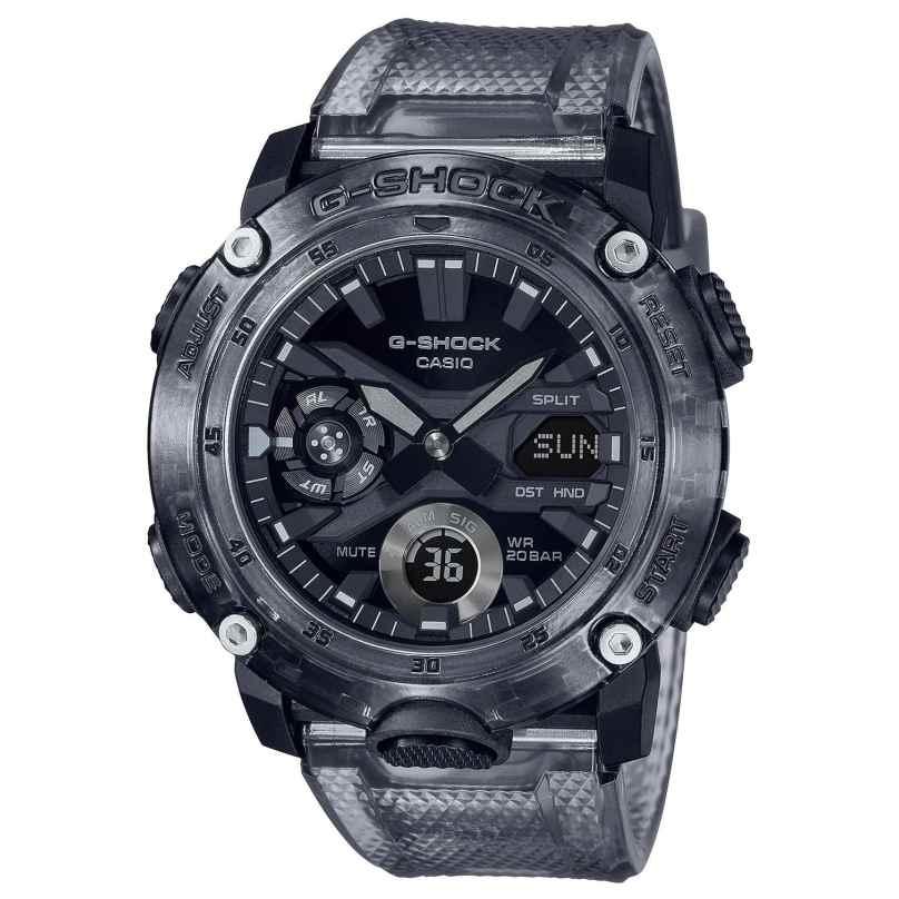 Casio GA-2000SKE-8AER G-Shock Classic Skeleton AnaDigi Herrenuhr 4549526297885