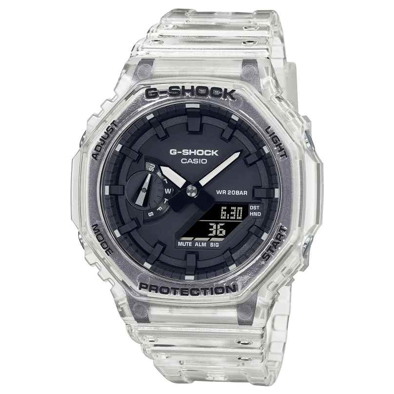 Casio GA-2100SKE-7AER G-Shock Classic Skeleton AnaDigi Men's Watch 4549526297939
