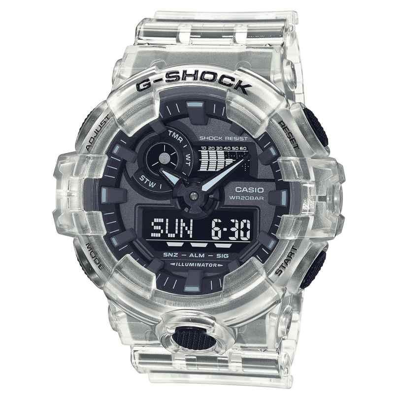 Casio GA-700SKE-7AER G-Shock Classic Skeleton AnaDigi Herrenuhr 4549526297519