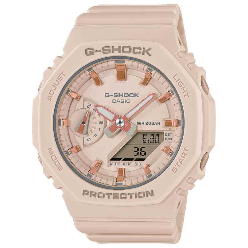 Casio GMA-S2100-4AER G-Shock Classic Ana-Digi Damenuhr Beige 4549526300370