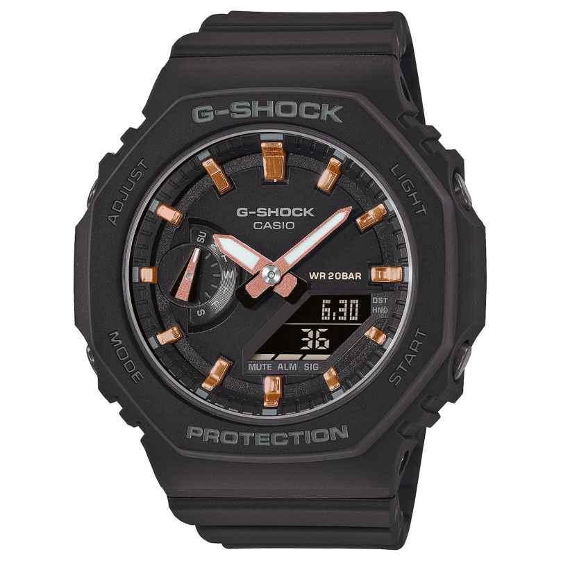 Casio GMA-S2100-1AER G-Shock Classic Ana-Digi Damenuhr Schwarz 4549526300271