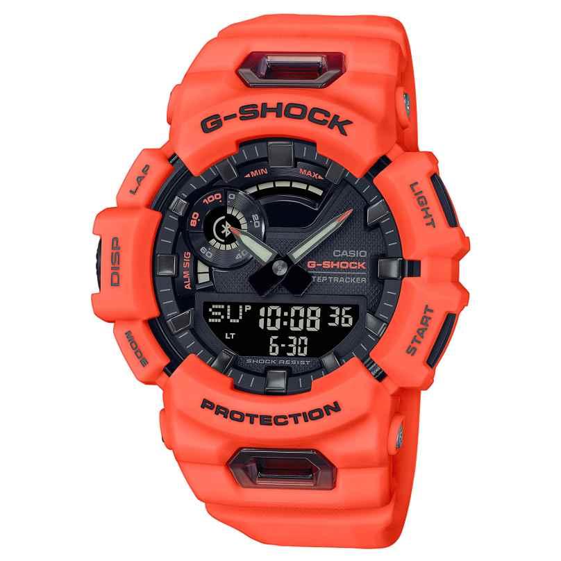Casio GBA-900-4AER G-Shock G-Squad AnaDigi Herrenuhr Neonorange 4549526301728