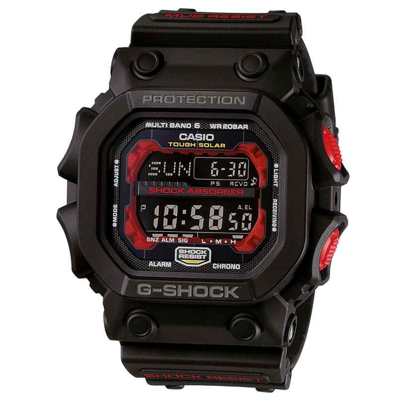 Casio GXW-56-1AER G-Shock Classic Funk-Solar Herrenuhr Schwarz/Rot 4549526311727
