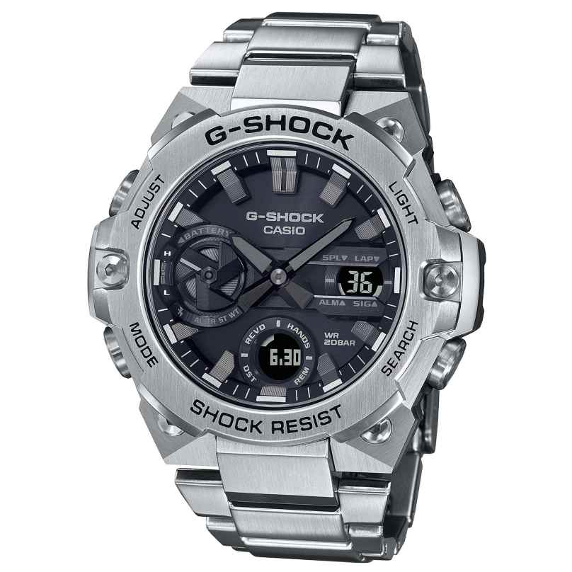 Casio GST-B400D-1AER G-Shock G-Steel Solar Herrenuhr 4549526303647