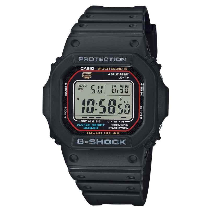 Casio GW-M5610U-1ER G-Shock The Origin Digital Funk-Solar-Herrenuhr Schwarz 4549526306204