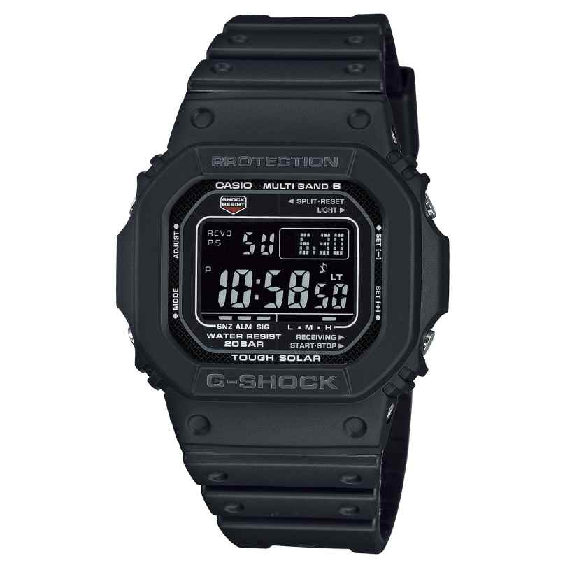 Casio GW-M5610U-1BER G-Shock The Origin Digital Funk-Solar-Herrenuhr Schwarz 4549526306181