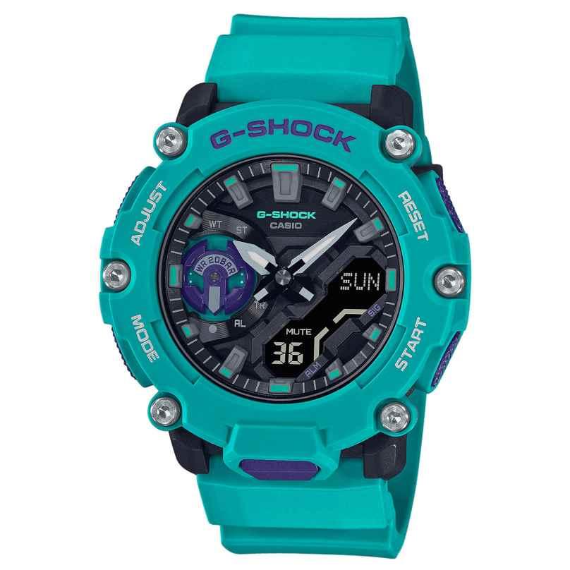 Casio GA-2200-2AER G-Shock Classic AnaDigi Herrenuhr Türkis 4549526307232