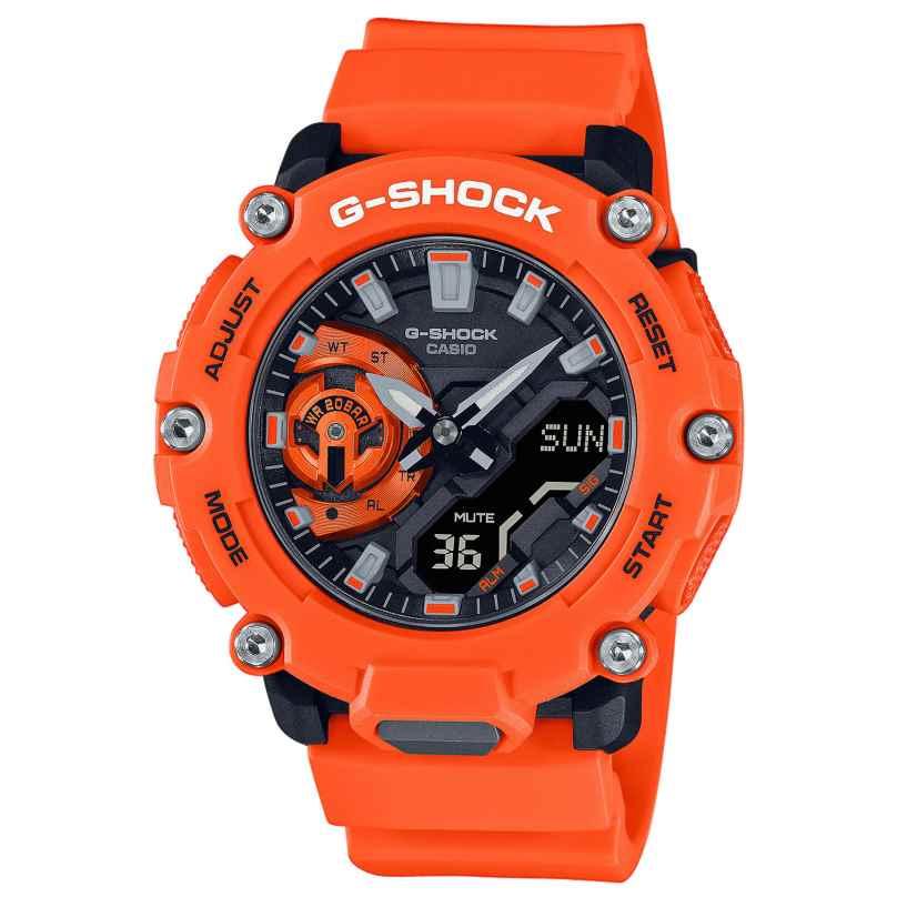 Casio GA-2200M-4AER G-Shock Classic AnaDigi Herrenuhr Orange/Schwarz 4549526307188
