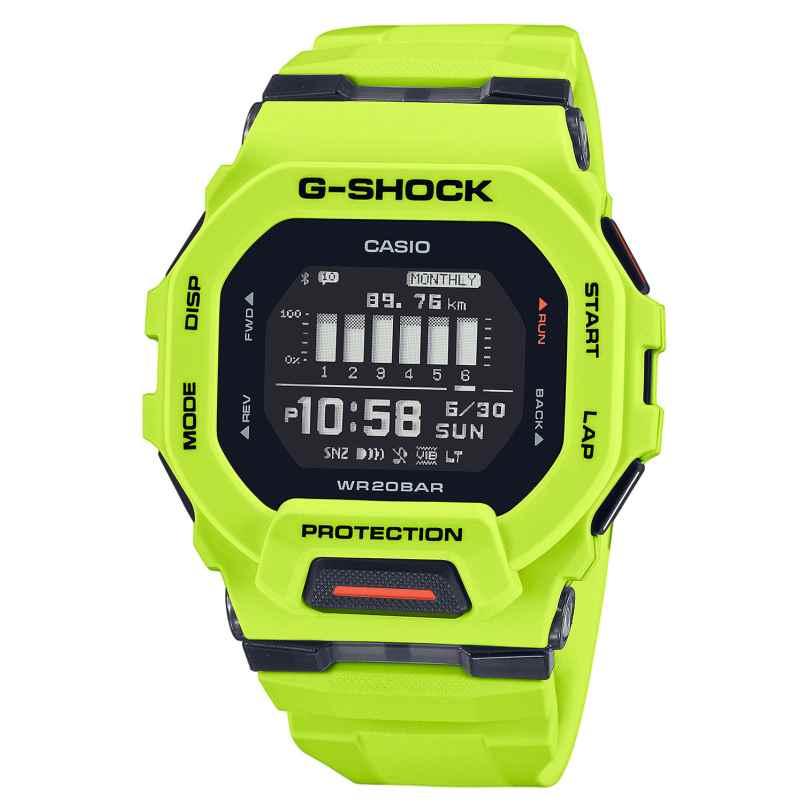 Casio GBD-200-9ER G-Shock G-Squad Digitaluhr Bluetooth Neongelb 4549526306372