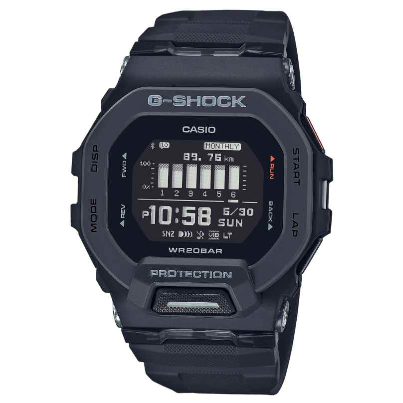 Casio GBD-200-1ER G-Shock G-Squad Digitaluhr Bluetooth Schwarz 4549526306273