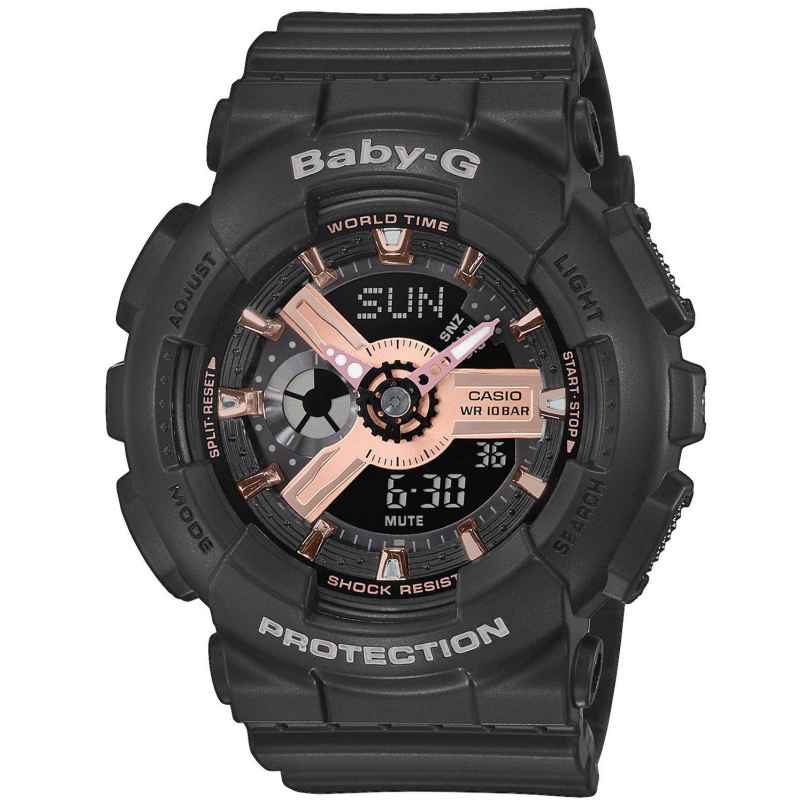 Casio BA-110RG-1AER Baby-G Ladies´ Watch 4549526211775