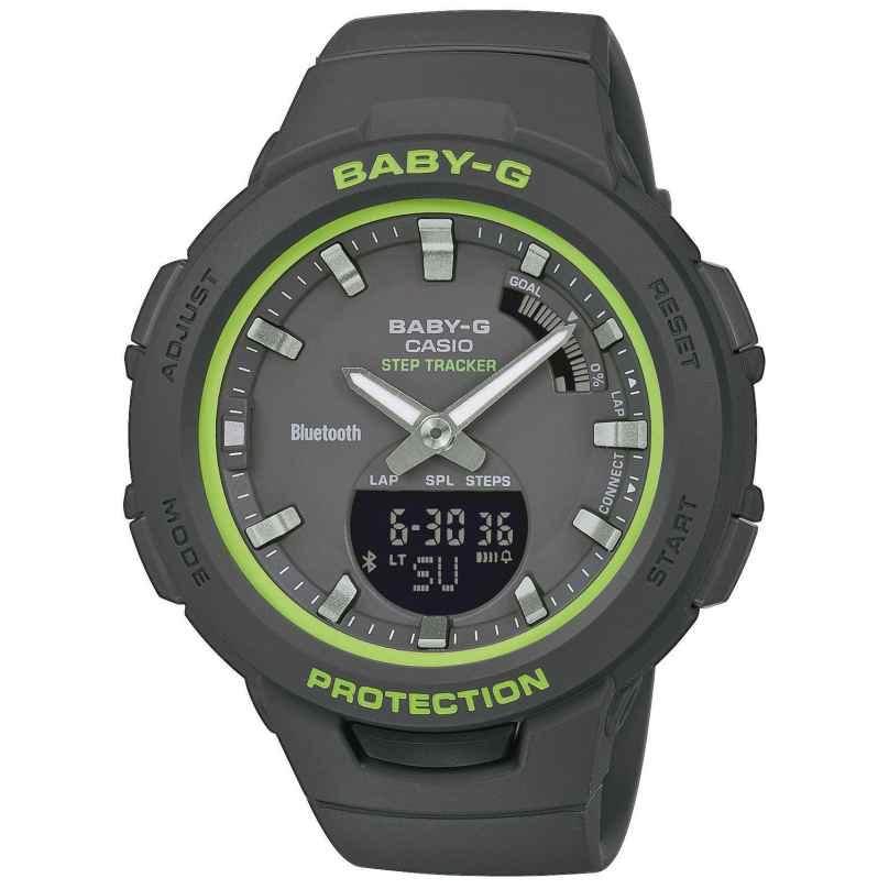Casio BSA-B100SC-1AER Baby-G Damen-Armbanduhr mit Schrittzähler 4549526217166