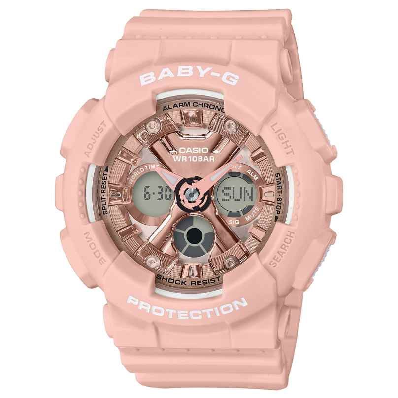 Casio BA-130-4AER Baby-G Damen-Armbanduhr 4549526225673