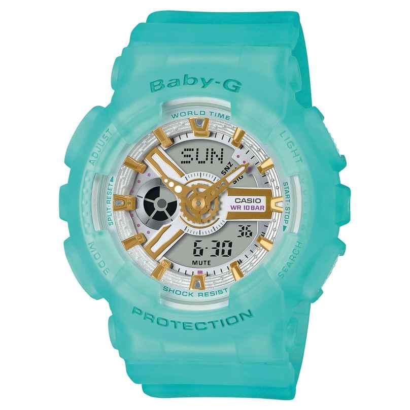 Casio BA-110SC-2AER Baby-G Urban Damenuhr Türkis 4549526270871