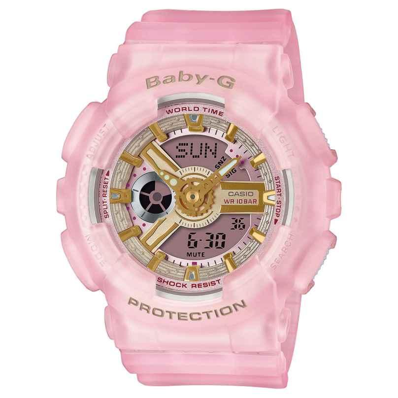 Casio BA-110SC-4AER Baby-G Urban Women's Watch Rose 4549526270925