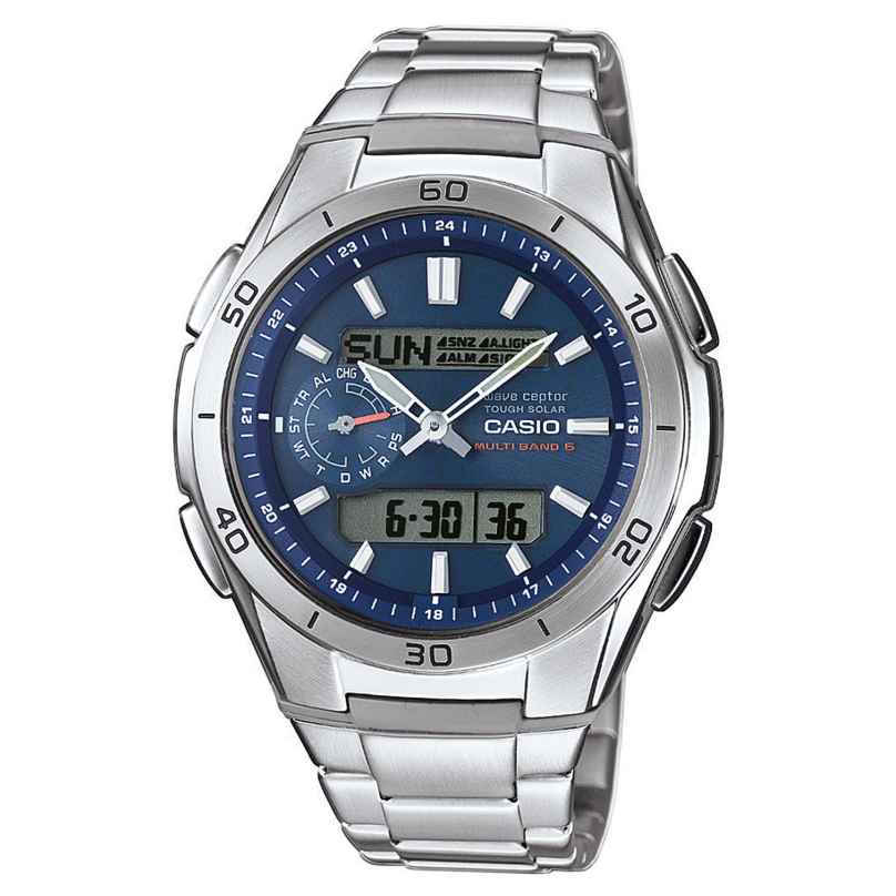 Casio WVA-M650D-2AER Solar Radio-Controlled Mens Watch 4971850027355