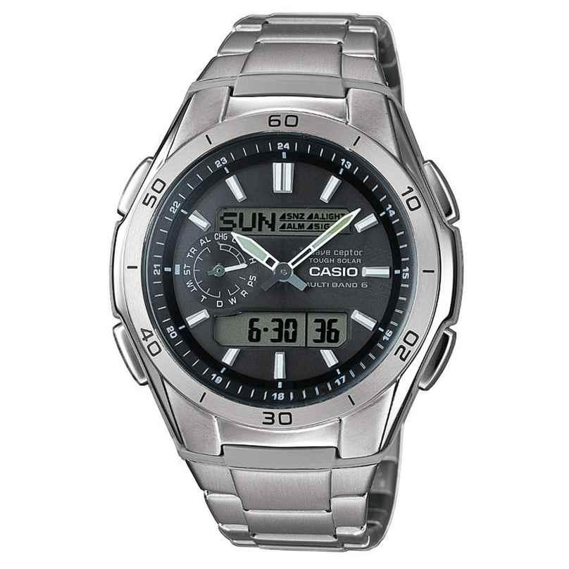 Casio WVA-M650TD-1AER Titan Solar Herren-Funkuhr 4971850027379