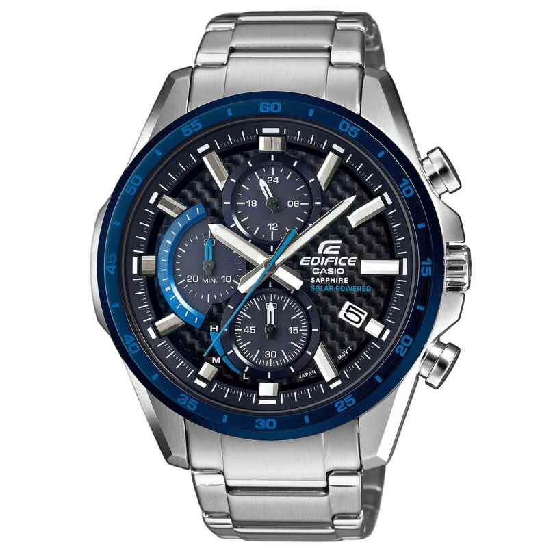 Casio EFS-S540DB-1BUEF Edifice Solar Chronograph Men´s Wristwatch 4549526202575