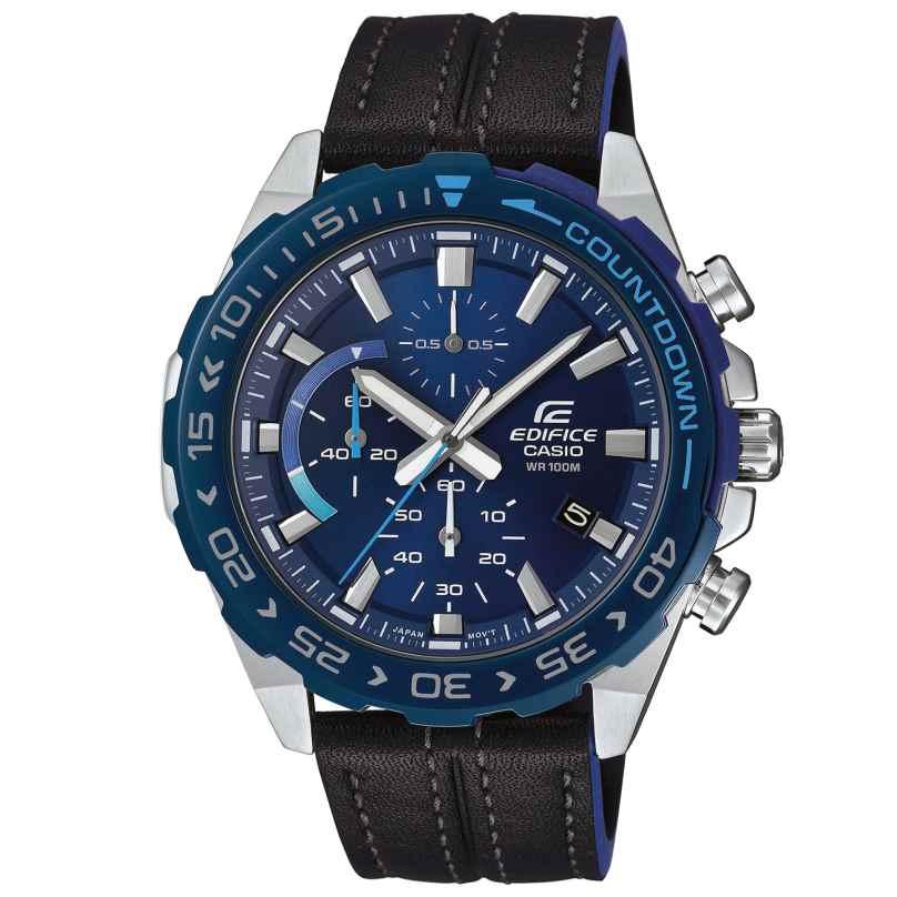 Casio EFR-566BL-2AVUEF Edifice Herrenuhr Chronograph 4549526225079
