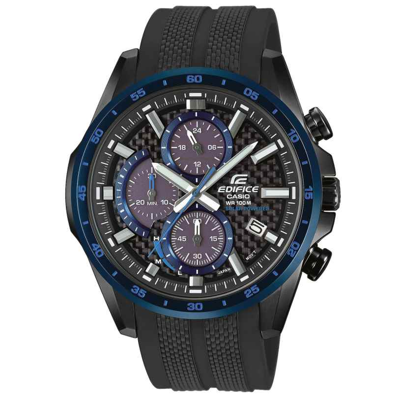 Casio EQS-900PB-1BVUEF Edifice Herrenuhr Solar-Chronograph 4549526224867