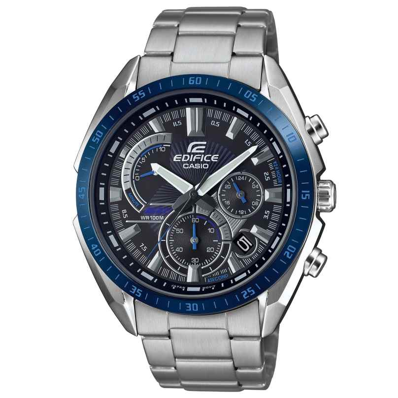 Casio EFR-570DB-1BVUEF Edifice Herrenuhr Chronograph 4549526252433