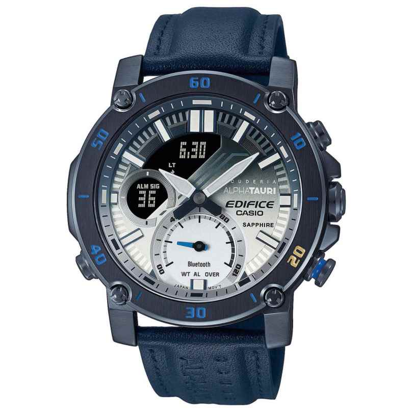 Casio ECB-20AT-2AER Edifice Men's Watch Chronograph Scuderia AlphaTauri 4549526285394