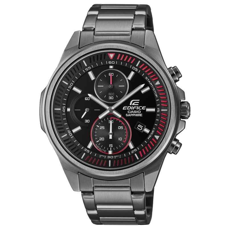 Casio EFR-S572DC-1AVUEF Edifice Herrenuhr Chronograph Grau/Rot 4549526298875
