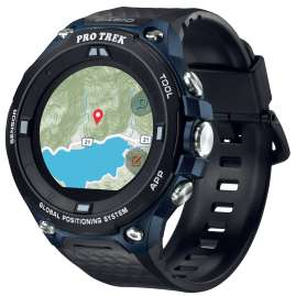Casio WSD-F20A-BUAAE Pro Trek Smart Outdoor Watch GPS Blue/Black