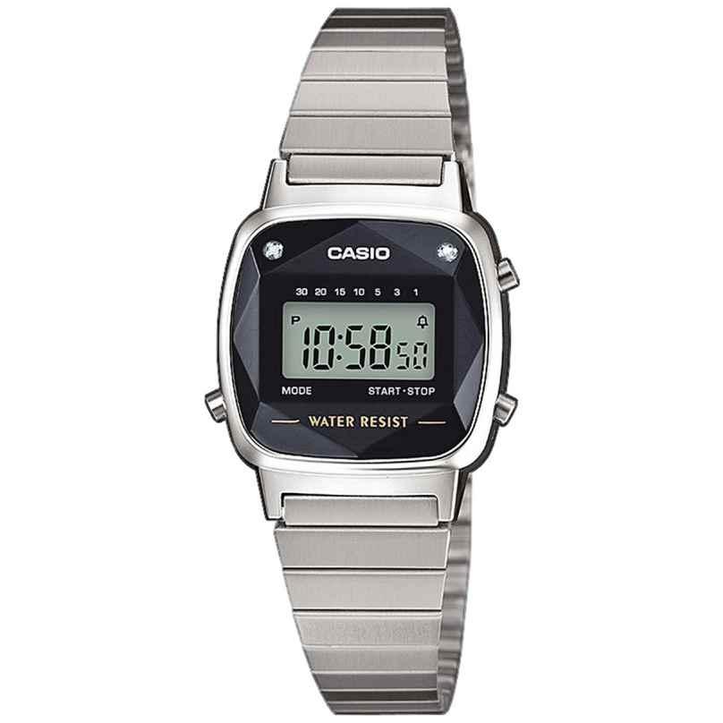 Casio LA670WEAD-1EF Vintage Damen-Digitaluhr 4549526195105