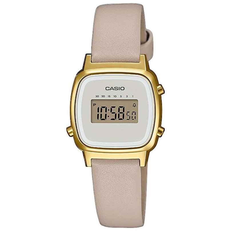 Casio LA670WEFL-9EF Vintage Mini Women's Digital Watch Beige/Gold 4549526252266