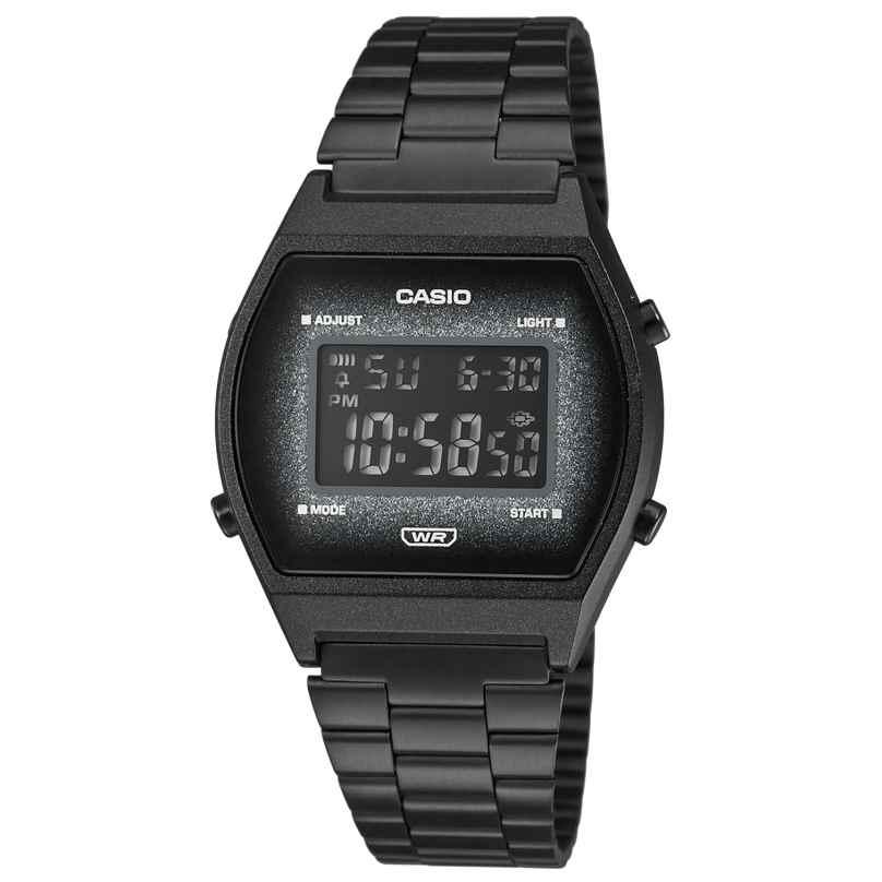 Casio B640WBG-1BEF Vintage Edgy Digitaluhr Schwarz 4549526257278