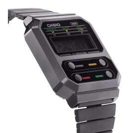 Casio A100WEGG-1AEF Vintage Edgy Armbanduhr Schwarz