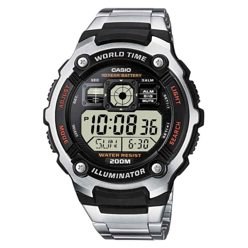 Casio AE-2000WD-1AVEF Herren Digitaluhr 4971850442165
