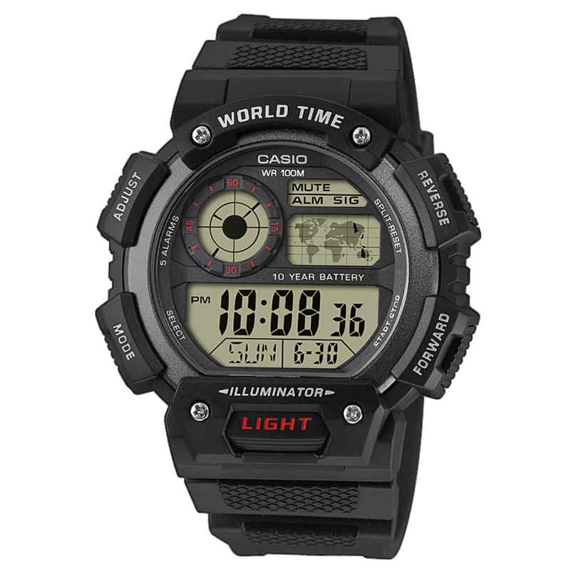 Casio AE-1400WH-1AVEF Digital Herrenuhr 4549526175596