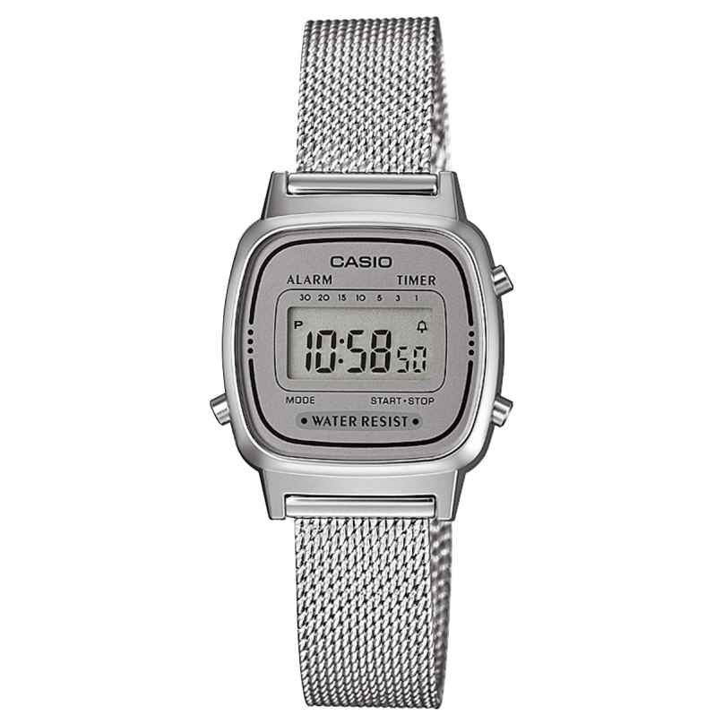 Casio LA670WEM-7EF Retro Digital Damenuhr 4549526187827