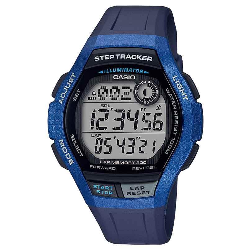 Casio WS-2000H-2AVEF Digitale Herren-Armbanduhr mit Schrittzähler 4549526212376