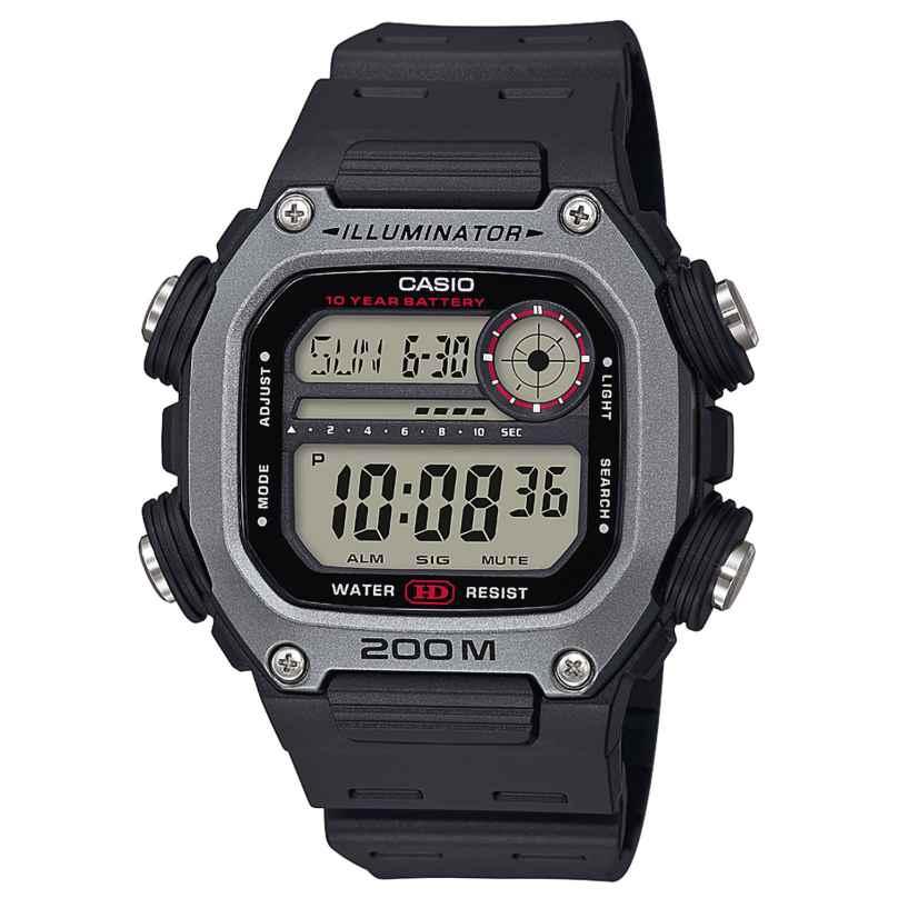 Casio DW-291H-1AVEF Collection Men's Digital Watch Black 4549526251214