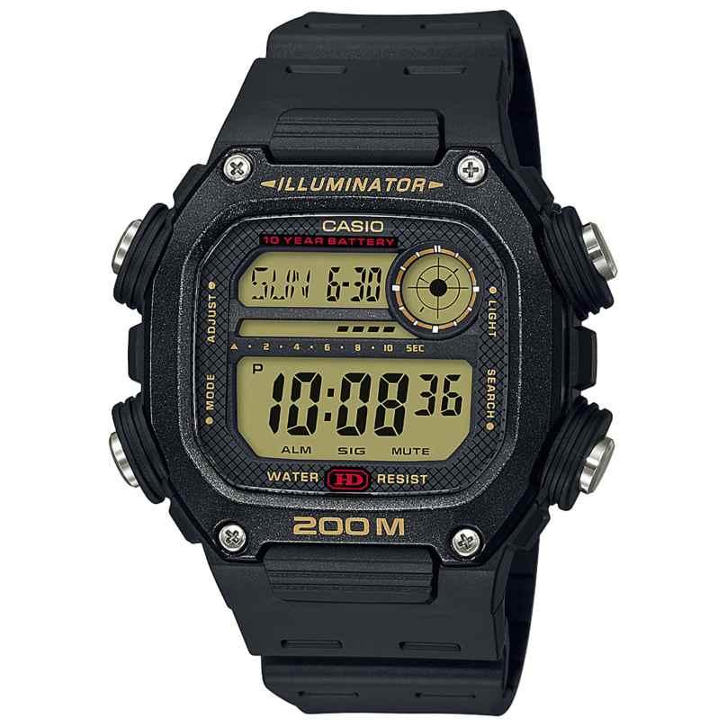 Casio DW-291H-9AVEF Collection Men's Wristwatch Digital Black 4549526251276