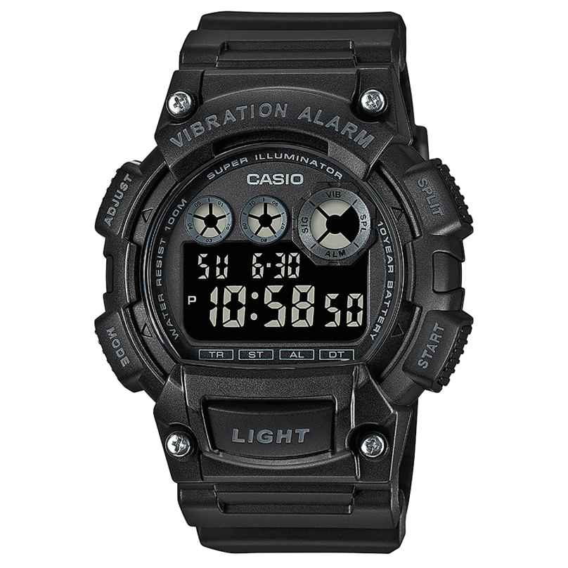 Casio W-735H-1BVEF Digital Men's Watch Black 4549526267888