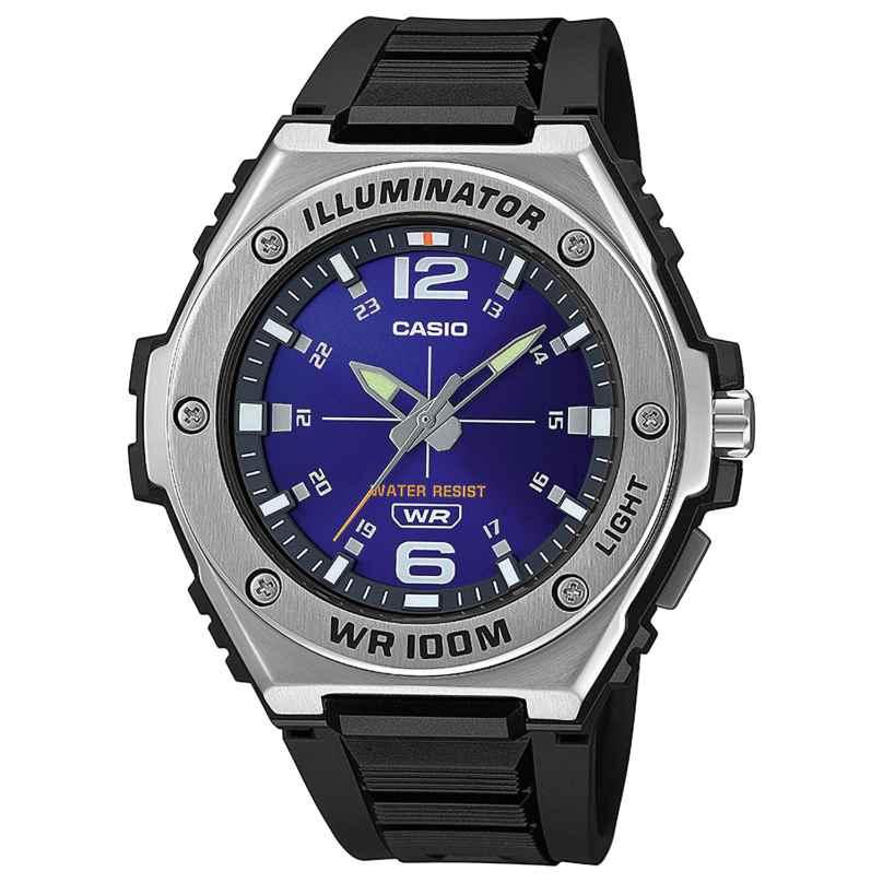 Casio MWA-100H-2AVEF Collection Men´s Watch Black/Blue 4549526273858