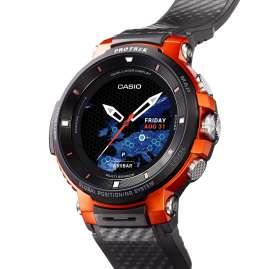 Casio WSD-F30-RGBAE Pro Trek Smart Outdoor-Uhr GPS Rot/Schwarz