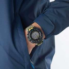 Casio PRG-240-5ER Pro Trek Outdoor Herren-Armbanduhr Khaki