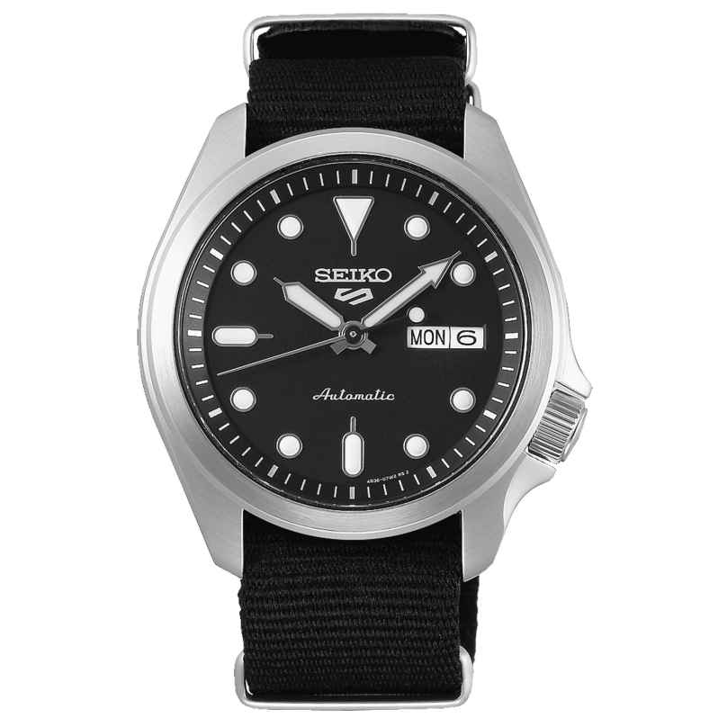 Seiko 5 Sports SRPE67K1 Men's Watch Automatic with Black Nato Strap 4954628235664