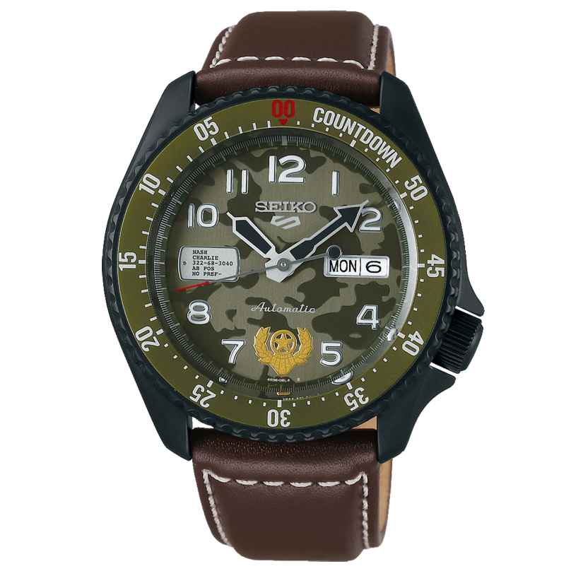 Seiko 5 Sports SRPF21K1 Automatic Men's Watch Guile 4954628238214