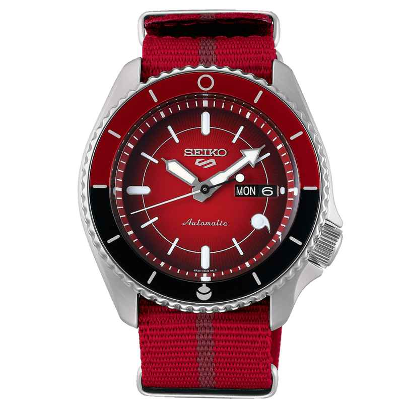 Seiko 5 Sports SRPF67K1 Automatic Men's Wristwatch Sarada Uchiha 4954628239006