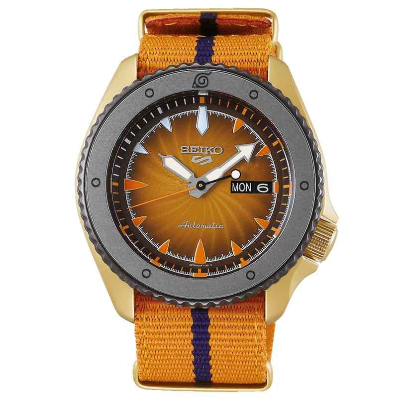 Seiko 5 Sports SRPF70K1 Men's Automatic Watch Naruto Uzumaki 4954628238948