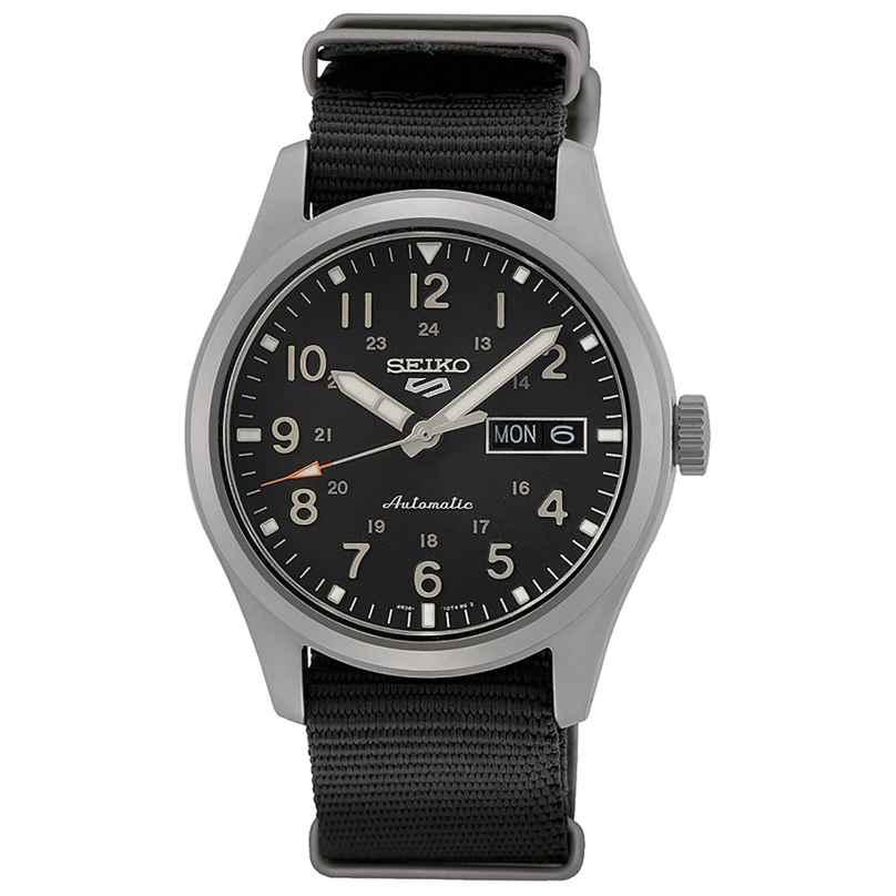 Seiko 5 Sports SRPG37K1 Herren-Armbanduhr Automatik Schwarz 4954628240569