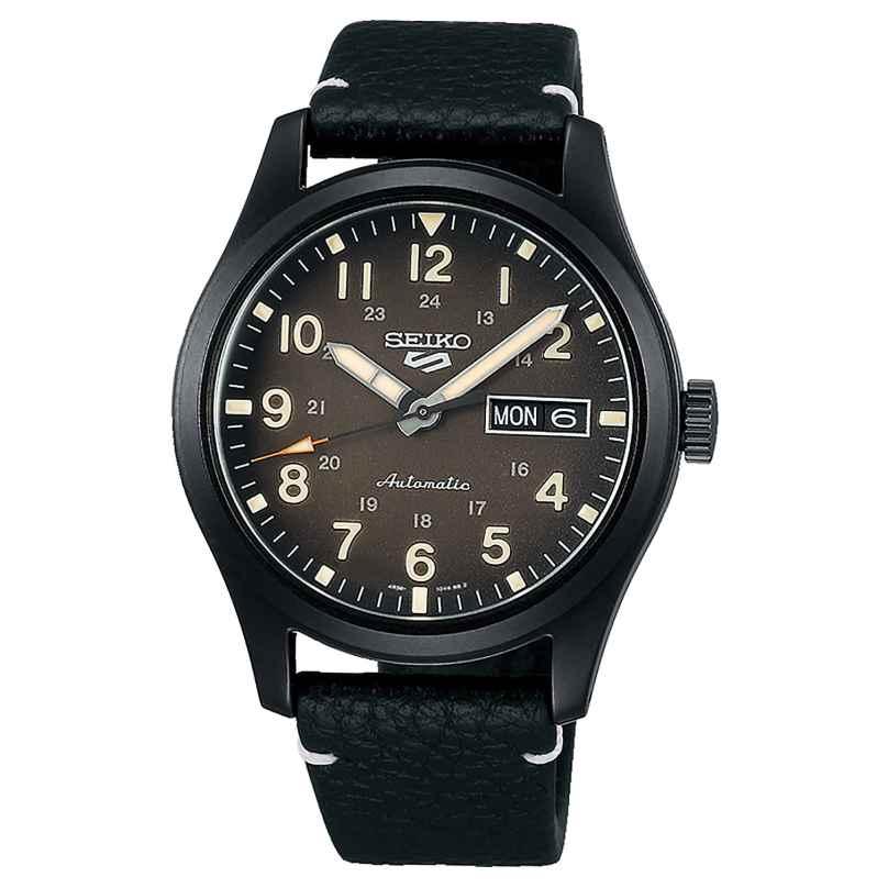 Seiko 5 Sports SRPG41K1 Herren-Armbanduhr Automatik Schwarz 4954628240590
