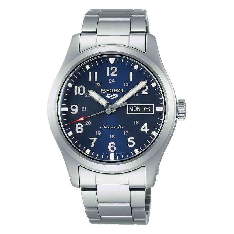 Seiko 5 Sports SRPG29K1 Men's Watch Automatic Steel/Blue 4954628240538